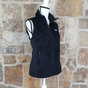 Patagonia L LARGE Black Fleece Vest